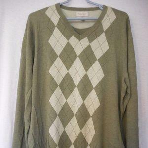 Banana Republic cashmere blend v-neck Sweater